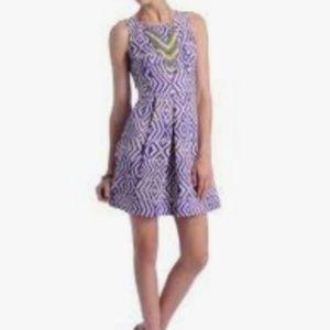 PLENTY by Tracy Reese Tribal Stripe Dress